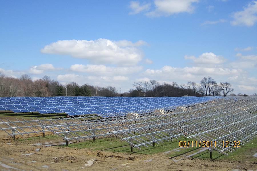 Pilesgrove Solar Farm Project Located In New Jersey