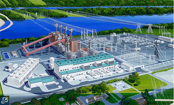 The 1,124-MW Panda Hummel Station Power Facility (Snyder County, Pa.)