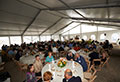 More than 200 people were treated to lunch following the ceremony